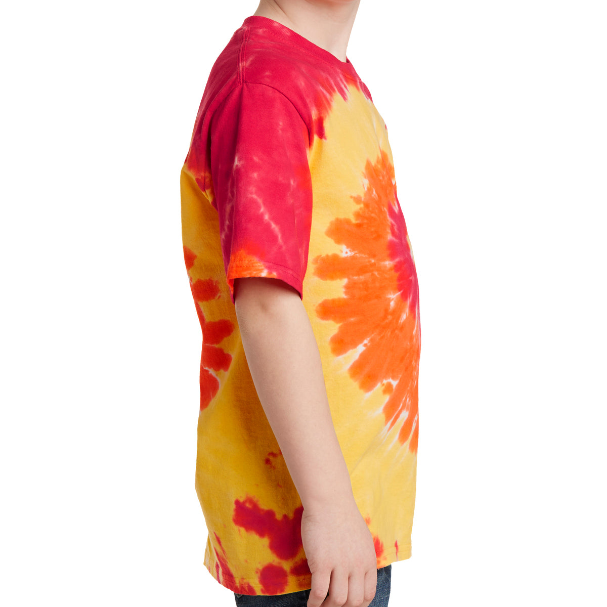 Youth Tie-Dye Tee - Blaze Rainbow