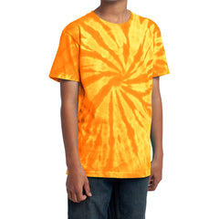 Youth Tie-Dye Tee - Gold