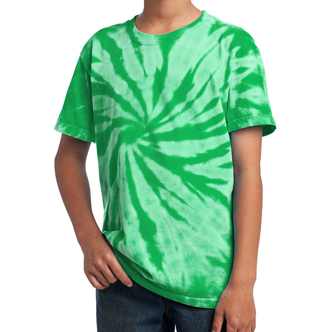 Youth Tie-Dye Tee - Kelly