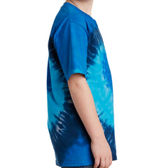 Youth Tie-Dye Tee - Ocean Rainbow