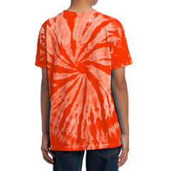Youth Tie-Dye Tee - Orange
