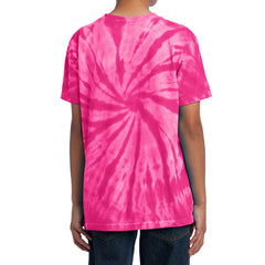 Youth Tie-Dye Tee - Pink