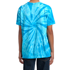 Youth Tie-Dye Tee - Turquoise