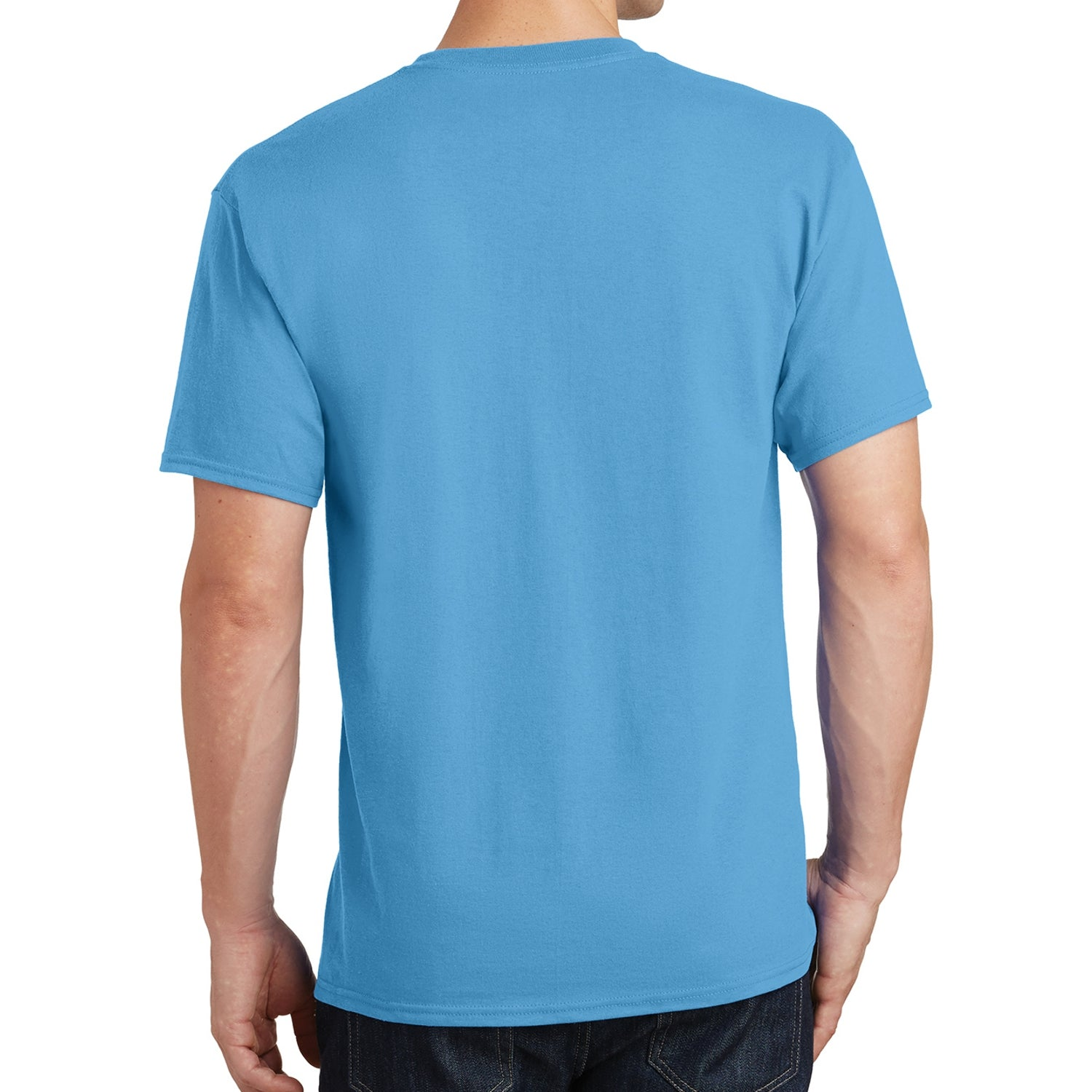 Core Cotton Tee - Aquatic Blue