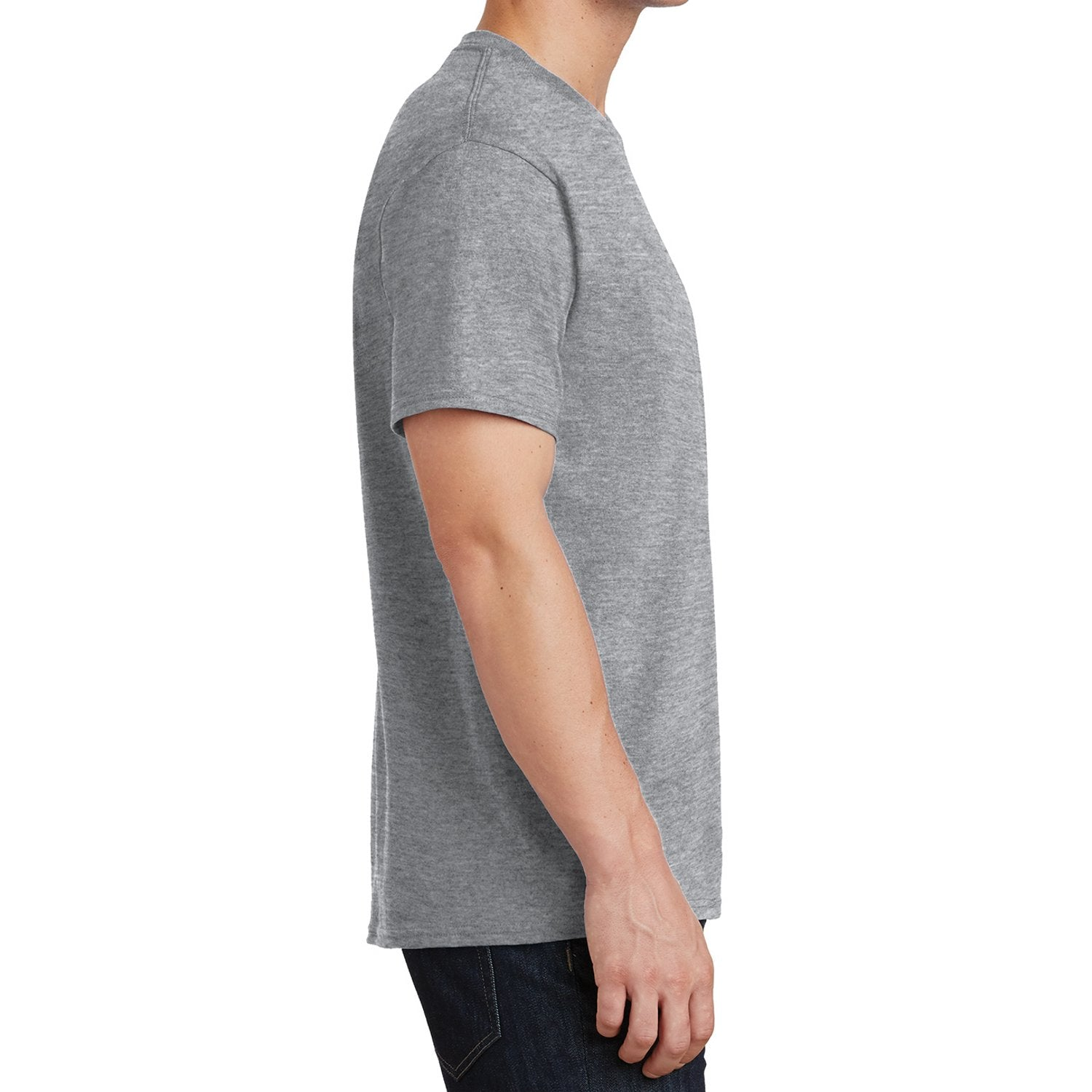 Core Cotton Tee - Athletic Heather