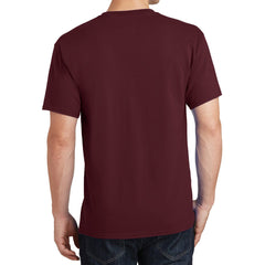 Core Cotton Tee - Athletic Maroon