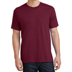 Core Cotton Tee - Cardinal