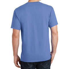 Core Cotton Tee - Carolina Blue