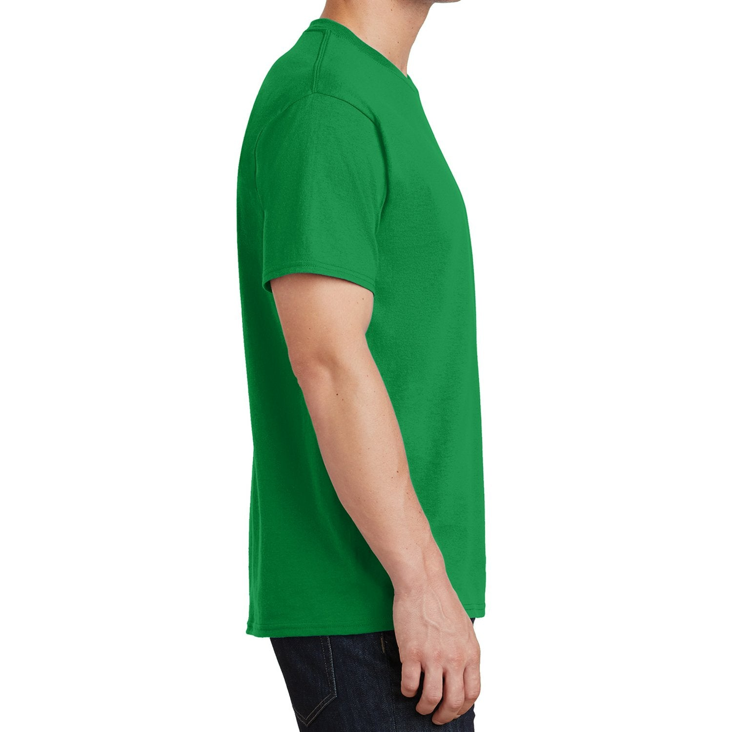 Core Cotton Tee - Clover Green