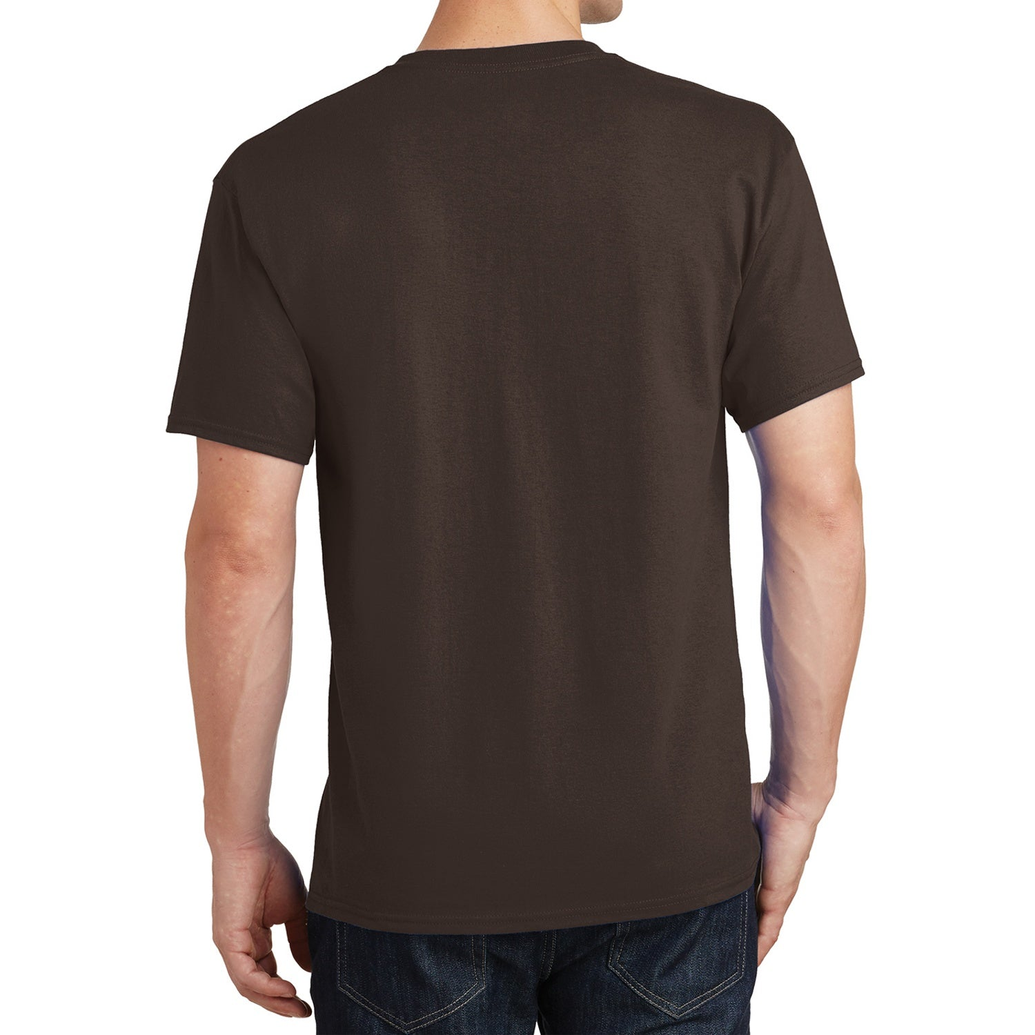 Core Cotton Tee - Dark Chocolate Brown