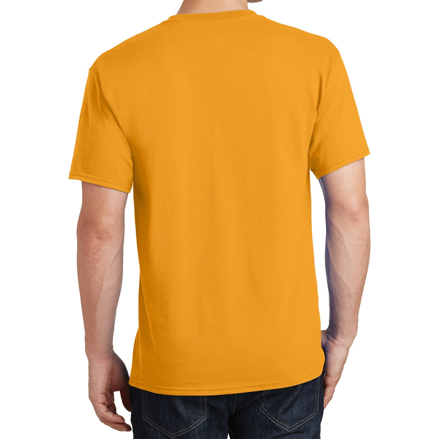 Core Cotton Tee - Gold