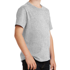 Youth Core Cotton Tee - Ash