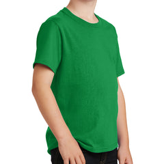 Youth Core Cotton Tee - Clover Green