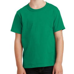 Youth Core Cotton Tee - Kelly