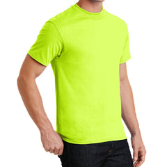 Core Blend Tee - Safety Green