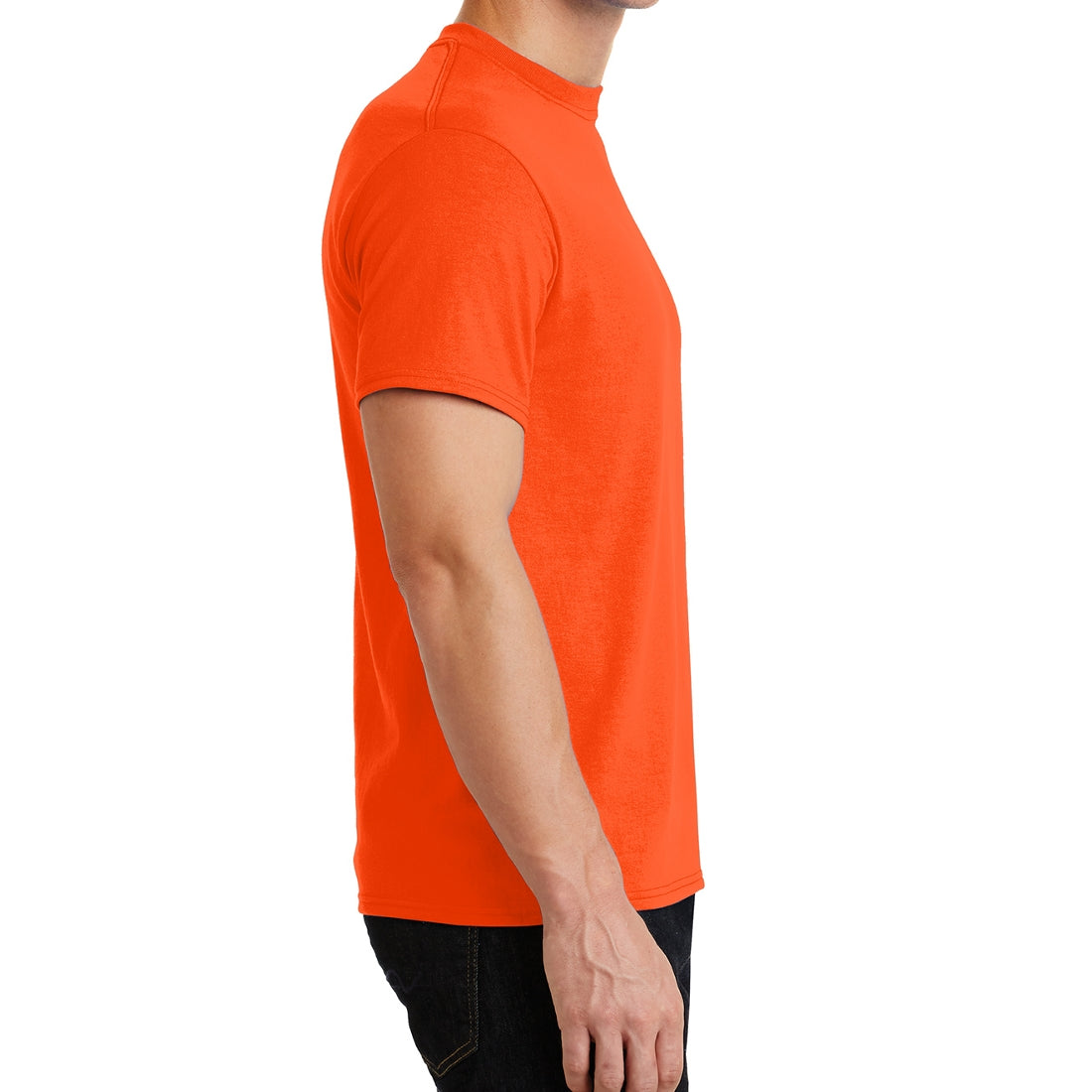Core Blend Tee - Safety Orange