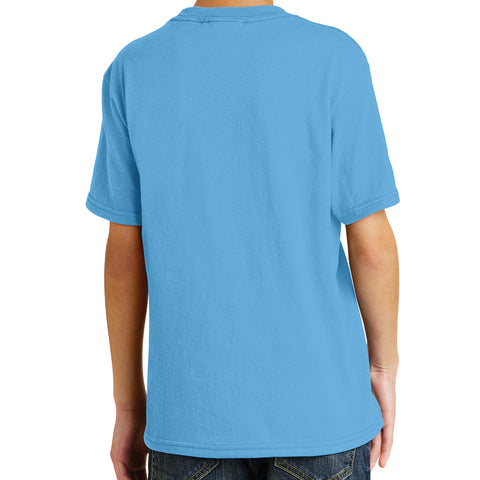 Youth Core Blend Tee - Aquatic Blue