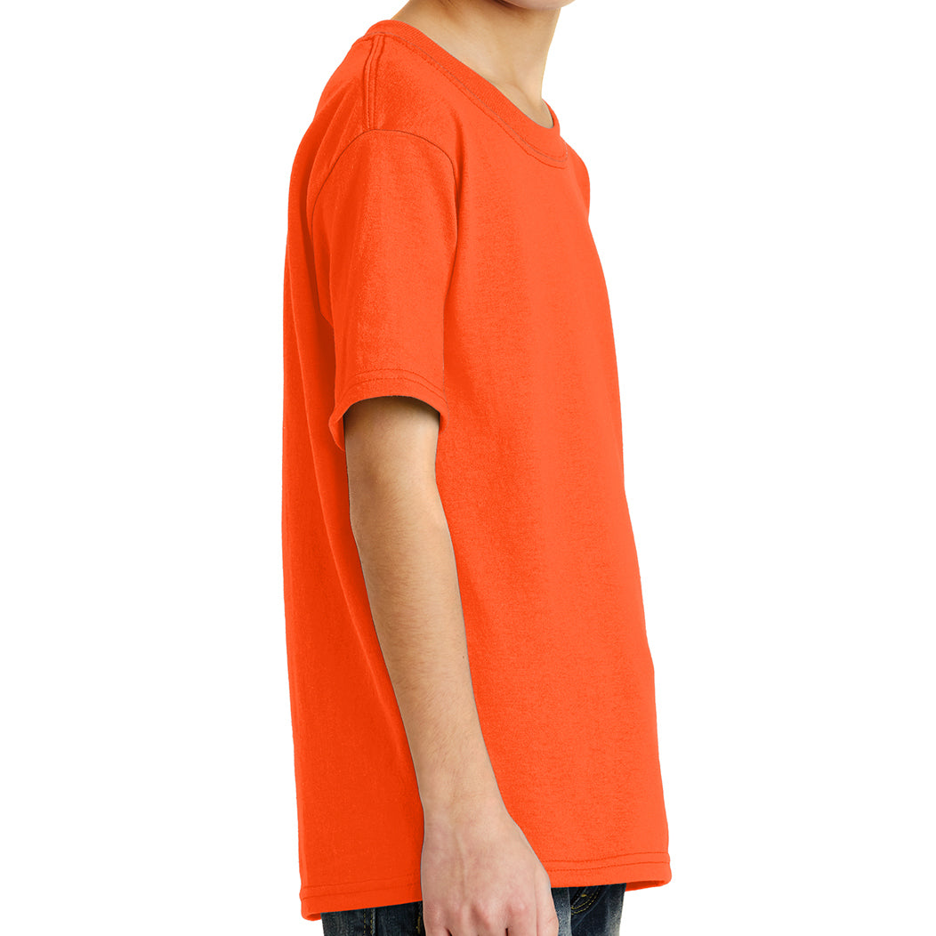 Youth Core Blend Tee -  Safety Orange