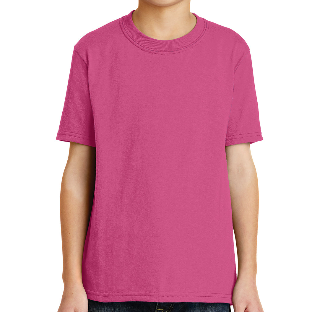 Youth Core Blend Tee -  Sangria
