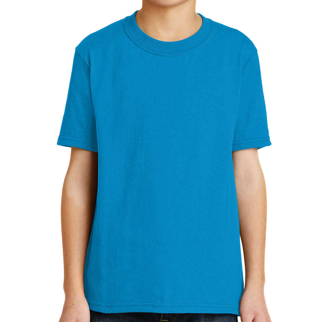 Youth Core Blend Tee -  Sapphire