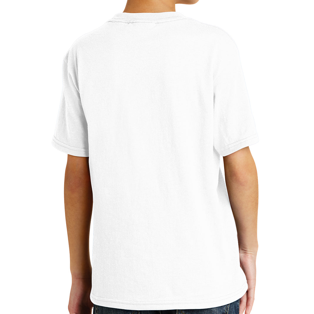Youth Core Blend Tee -  White