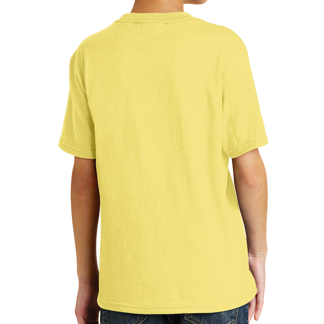 Youth Core Blend Tee - Yellow