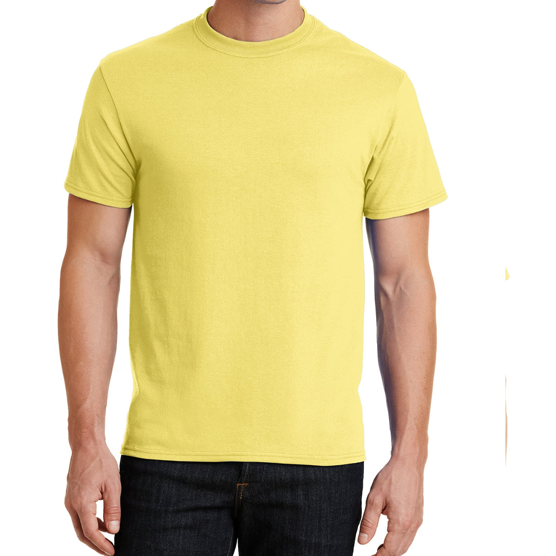 Core Blend Tee - Yellow