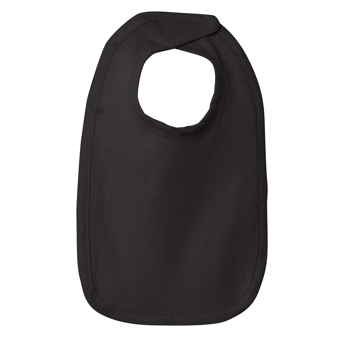 Infant Premium Jersey Bib - Black