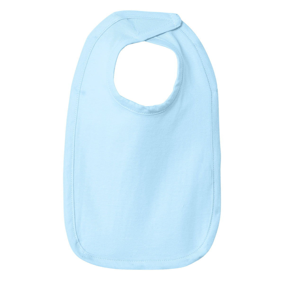 Infant Premium Jersey Bib - Light Blue
