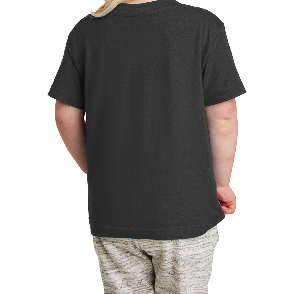 Toddler Fine Jersey Tee - Black