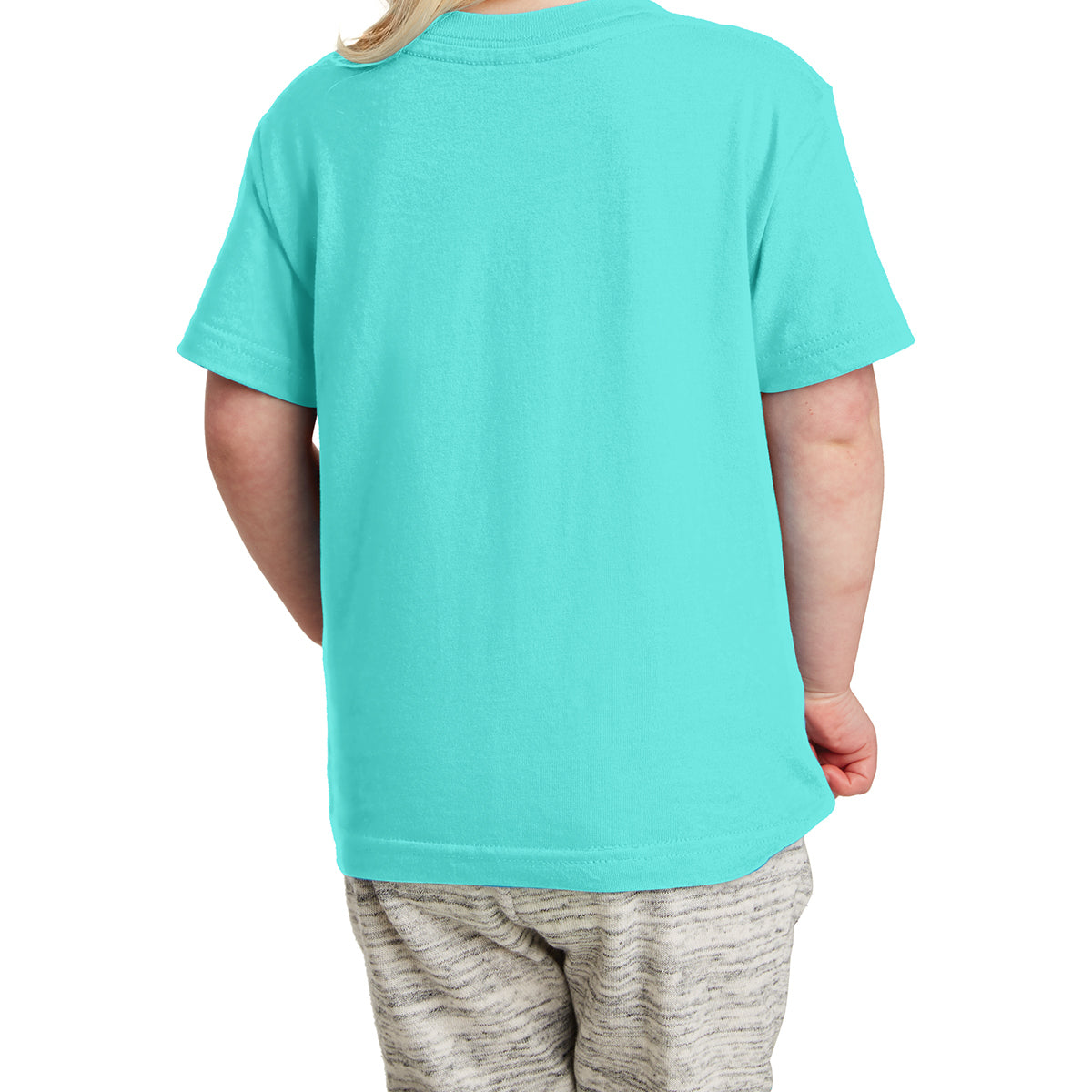 Toddler Fine Jersey Tee - Caribbean