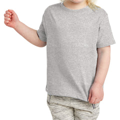 Toddler Fine Jersey Tee - Heather