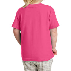 Toddler Fine Jersey Tee - Hot Pink