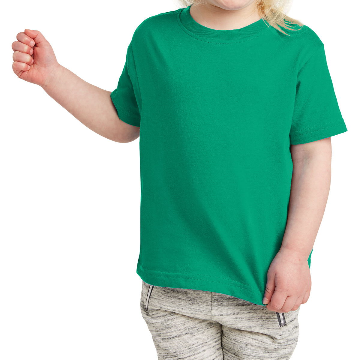 Toddler Fine Jersey Tee - Kelly