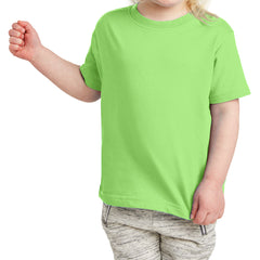 Toddler Fine Jersey Tee - Key Lime