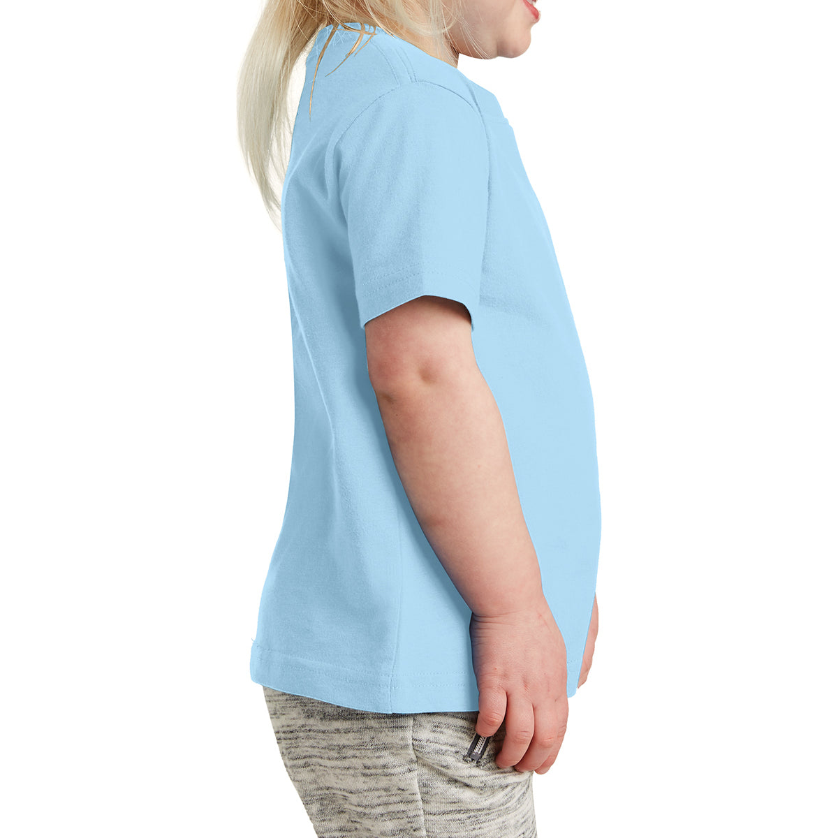 Toddler Fine Jersey Tee - Light Blue