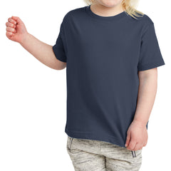 Toddler Fine Jersey Tee - Navy