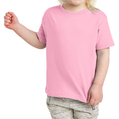 Toddler Fine Jersey Tee - Pink