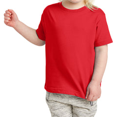 Toddler Fine Jersey Tee - Red