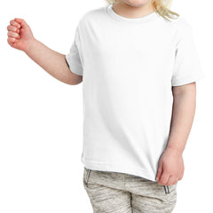 Toddler Fine Jersey Tee - White