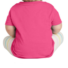 Infant Fine Jersey Tee - Hot Pink