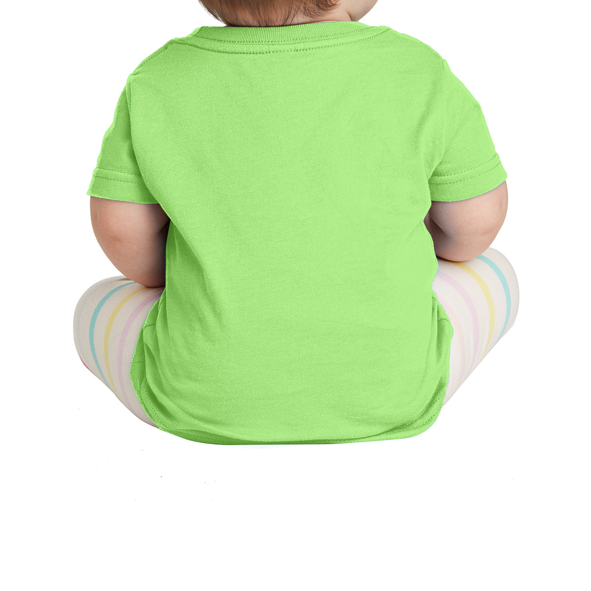Infant Fine Jersey Tee - Key Lime
