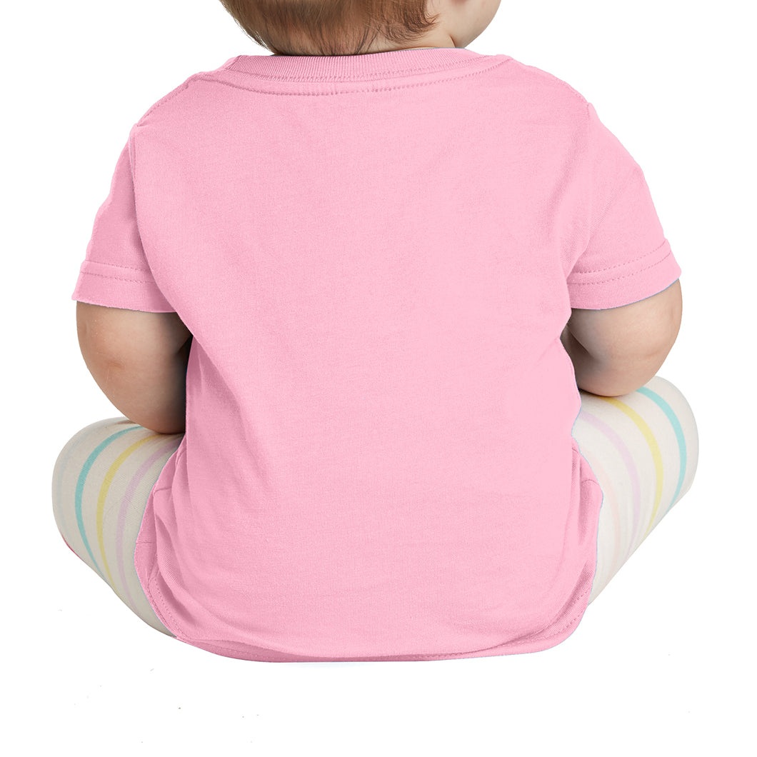 Infant Fine Jersey Tee - Pink