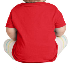 Infant Fine Jersey Tee - Red
