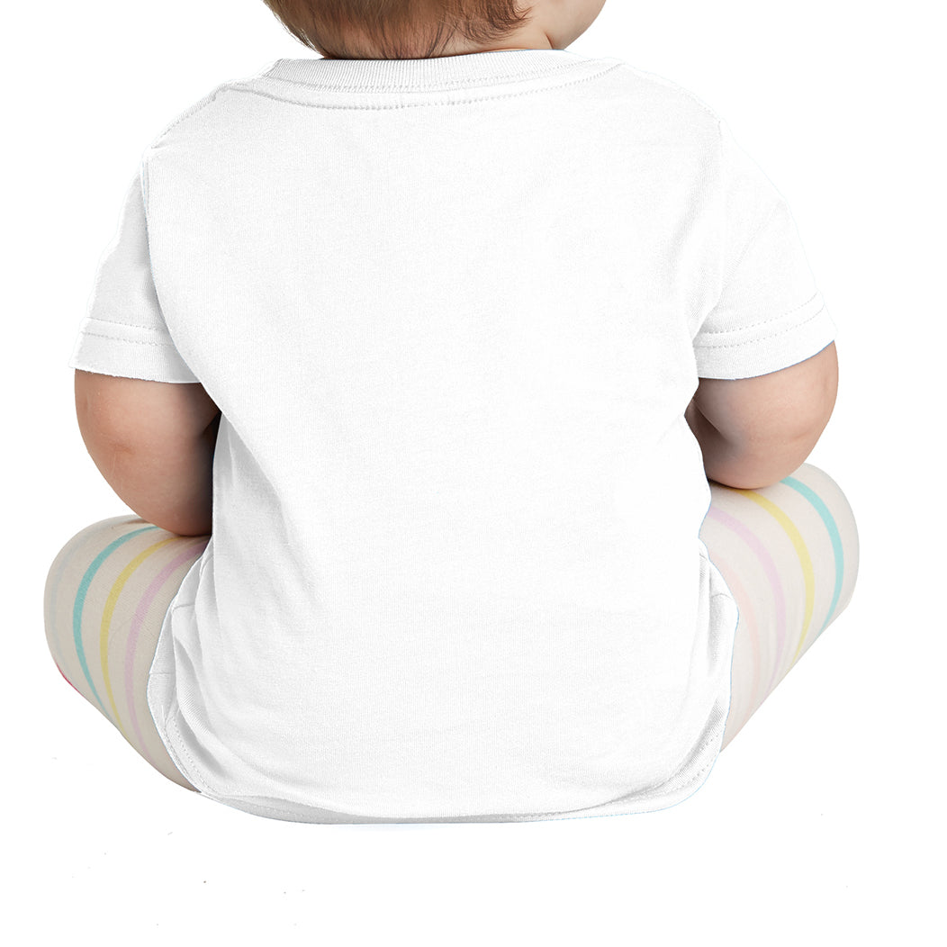 Infant Fine Jersey Tee - White