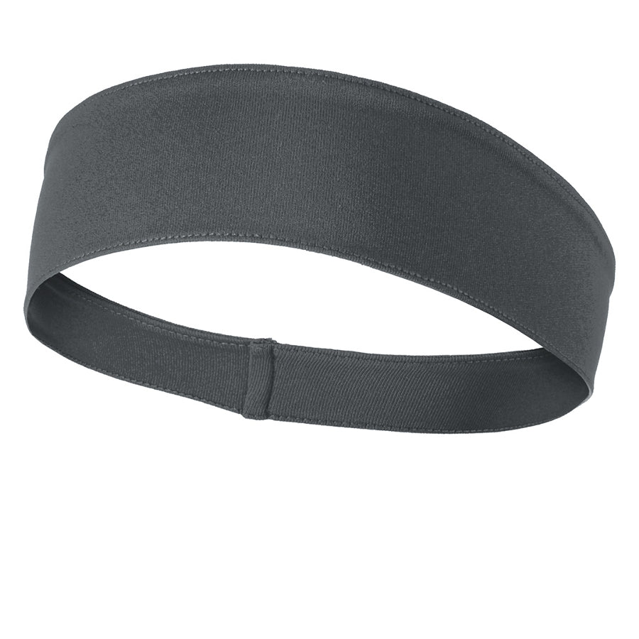 PosiCharge Competitor Headband - Iron Grey