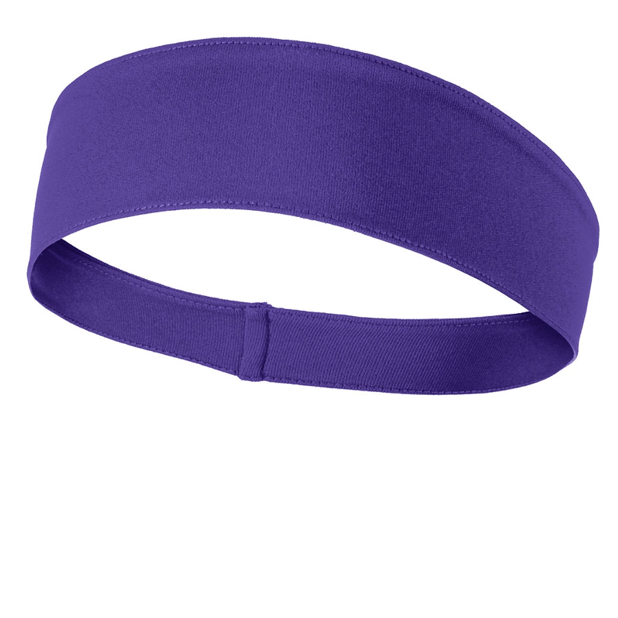 PosiCharge Competitor Headband - Purple