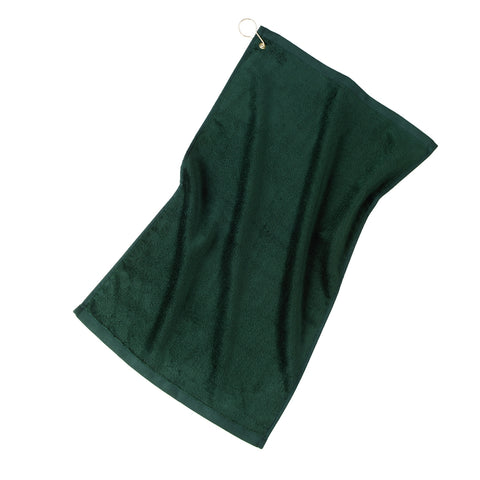 Grommeted Golf Towel - Hunter