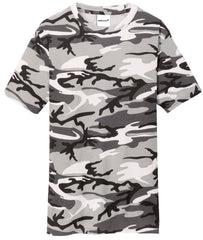 Mafoose Men's 5.4-oz 100% Cotton Tee Shirt Winter Camo-Front