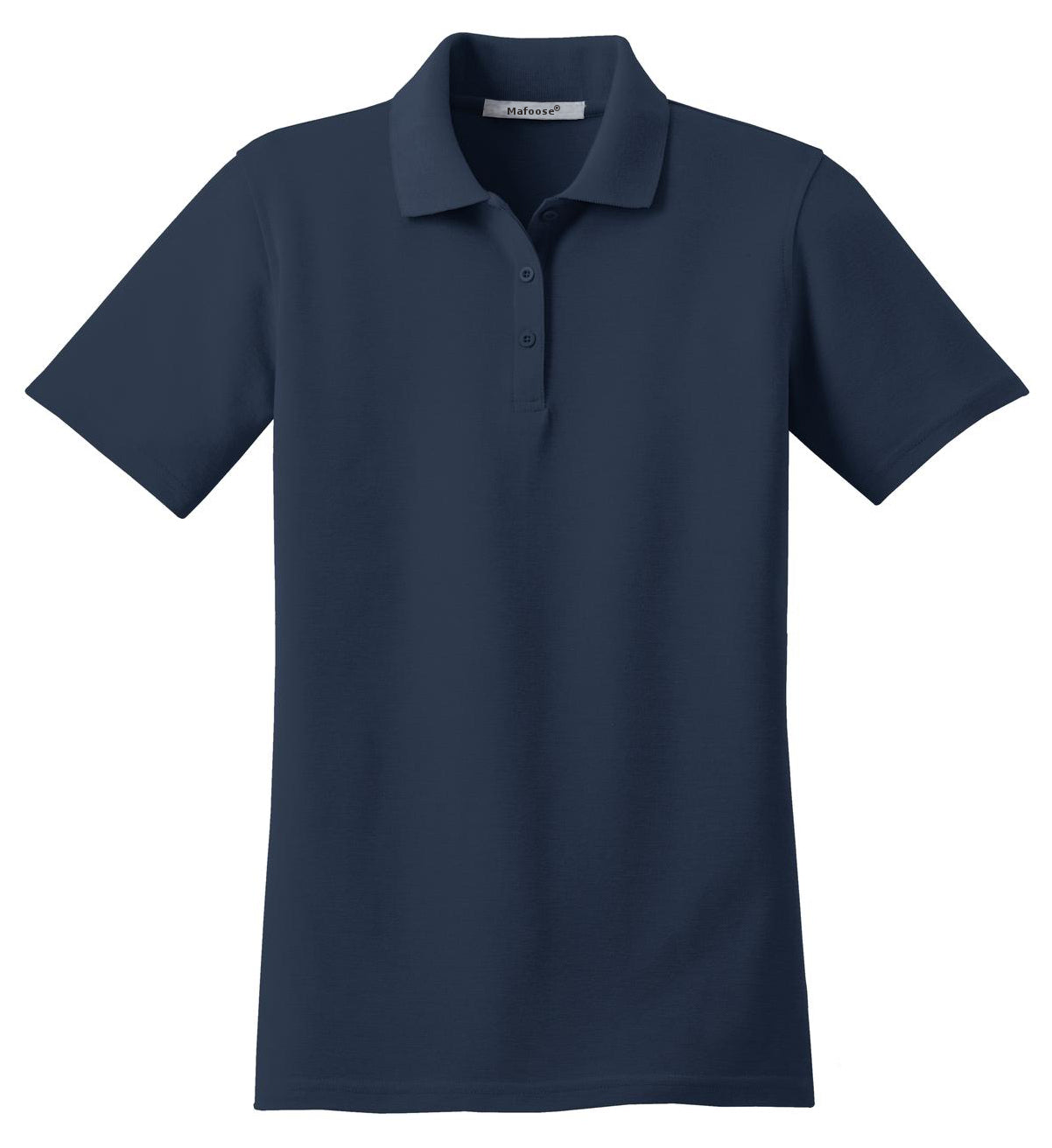 Mafoose Women's Stain Resistant Polo Shirt Navy-Front